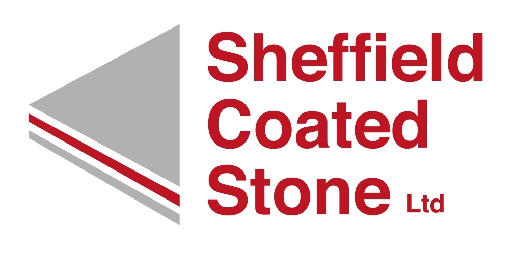 Sheffield Coated Stone Red logo
