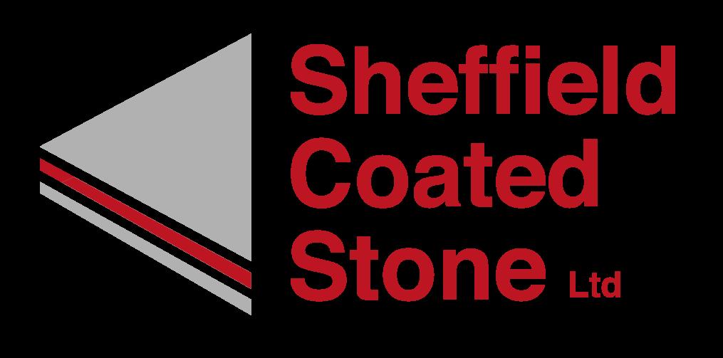 Sheffield Coated Stone Red logo